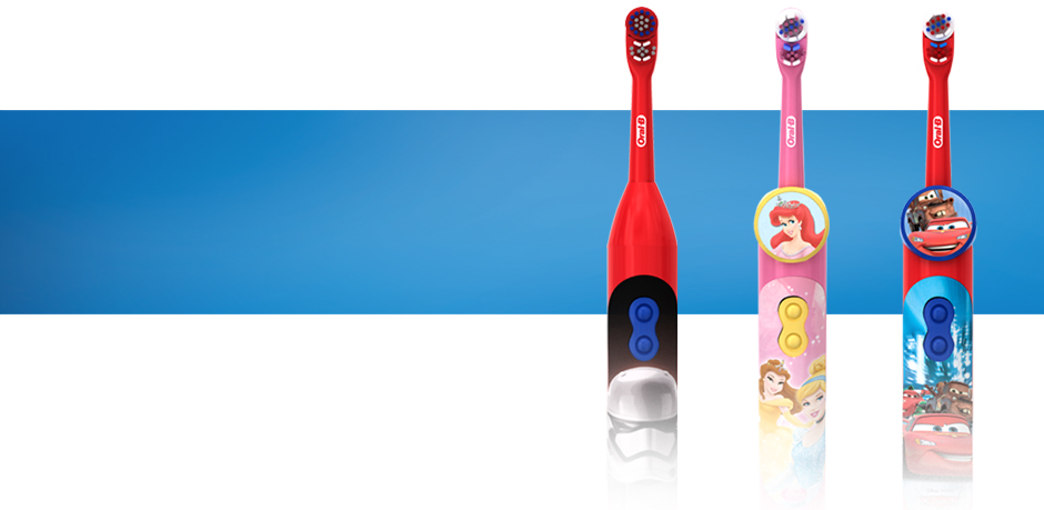 Oral-B's Kids Collection for Every Stage of Their Growth