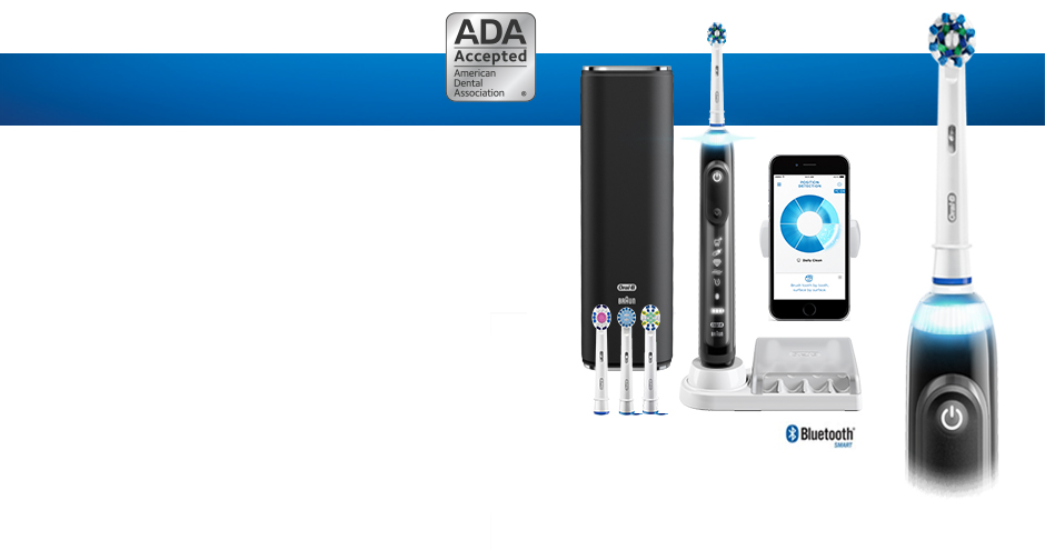 ORAL-B GENIUS PRO 8000 ELECTRIC TOOTHBRUSH