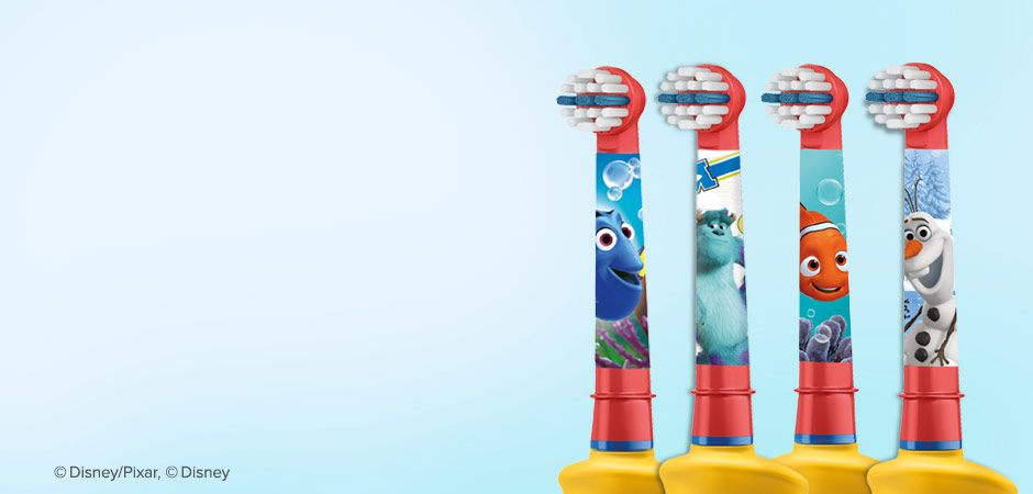 Oral-B Stages For Children Replacement Toothbrush Heads With Disney Characters