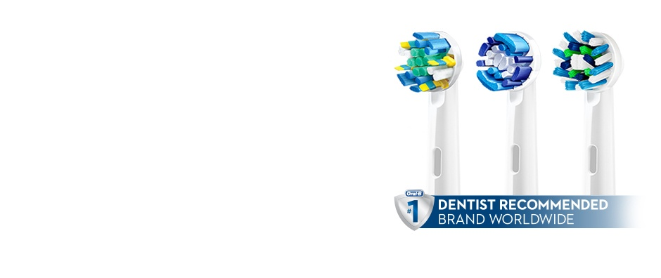 Oral-B Brush Heads Are Engineered For The Best Clean