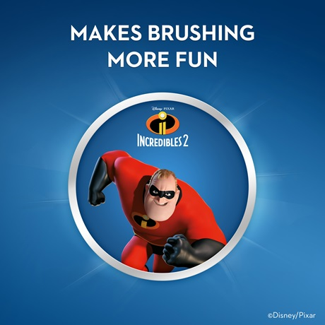 Kids Toothpaste And Toothbrush Disney's The Incredi...