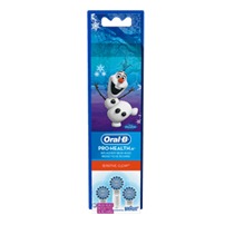 Oral-B Pro-Health Jr. Disney Frozen Sensitive Clean Replacement Brush Heads