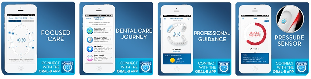 Features Of The Oral-B Vitality