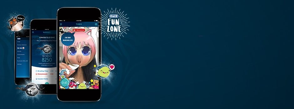 Unlock Smiles with the  Oral-B FunZone