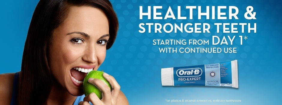 Oral-B Pro-Expert oral care products