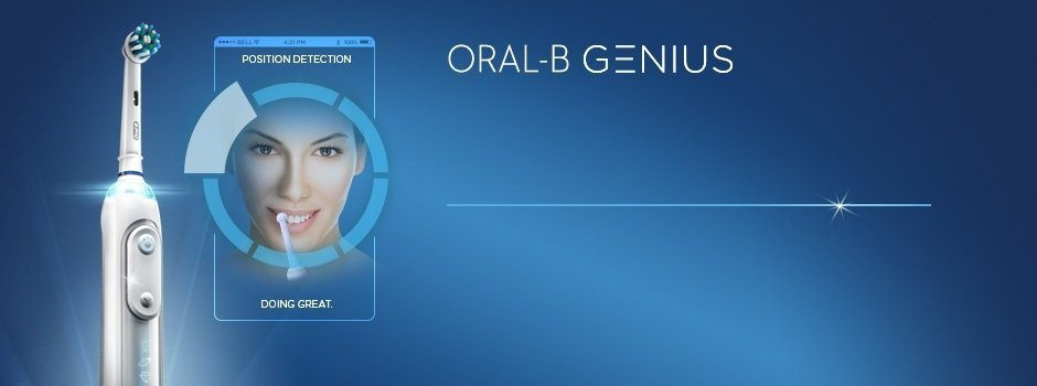 ORAL-B GENIUS NTELLIGENT BRUSH. SUPERIOR CLEAN.*