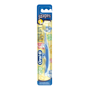 Oral-B Stages 1 baby toothbrush (4-24 months)