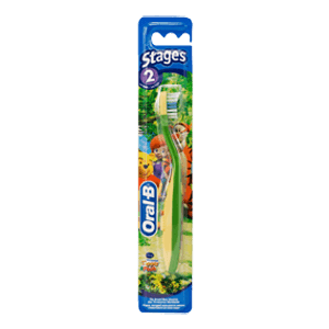 Oral-B Stages 2 Tiger & Pooh kids toothbrush (2-4 years)