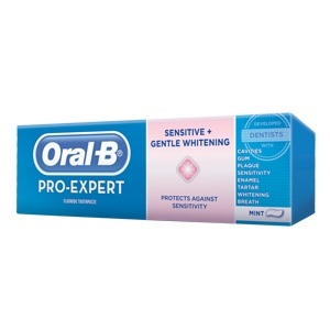 Oral-B Pro-Expert Sensitive & Gentle Whitening toothpaste