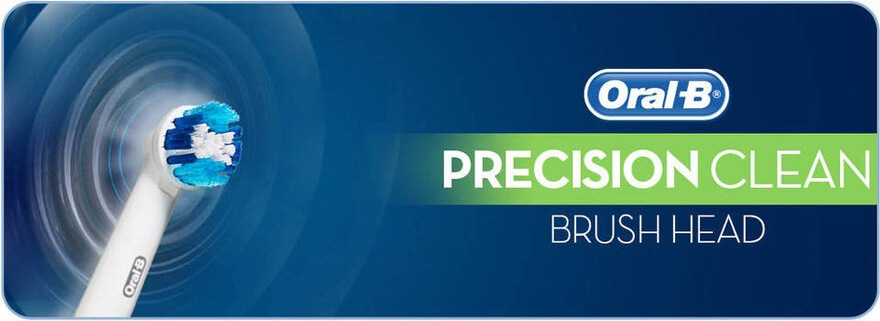 Oral B Precision Clean Replacement Brush Head