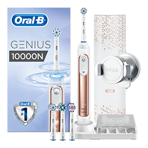 Oral-B Genius 10000 Rose Gold electric toothbrush