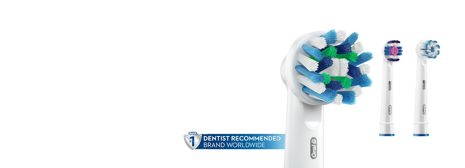 DENTISTS RECOMMEND REPLACING YOUR BRUSH HEAD EVERY 3-4 MONTHS