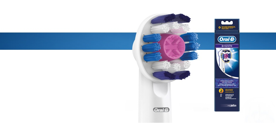 Oral-B 3D White Replacement Brush Head