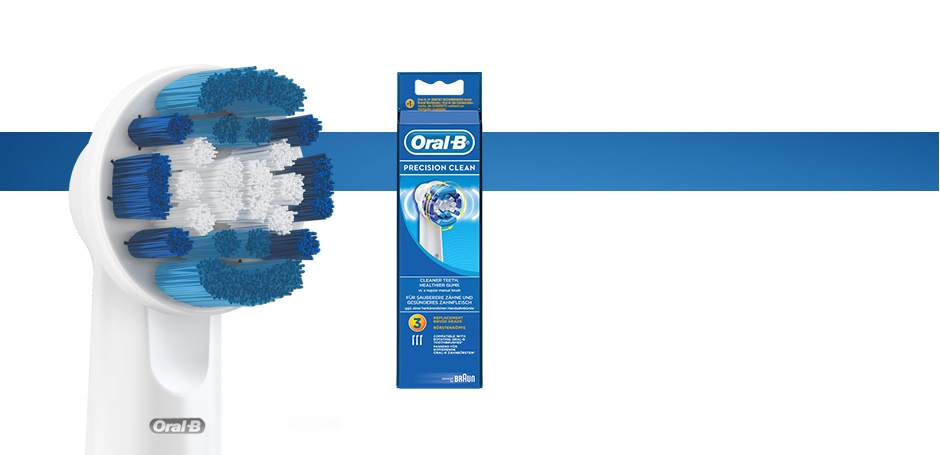 Oral-B Precision Clean Replacement Brush Head