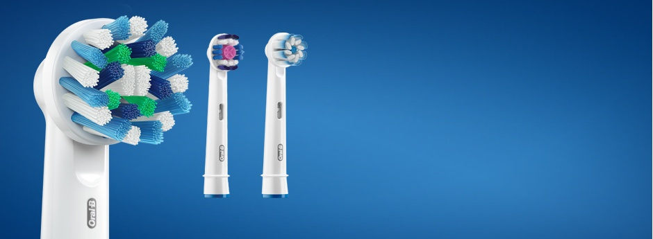 Oral-B Brush Heads - designed with dentists for every need