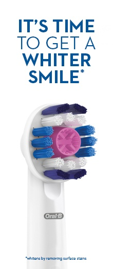 IT'S TIME TO GET A WHITER SMILE*
