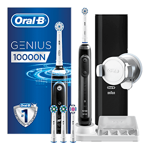 Oral-B Genius 10000 Black electric toothbrush