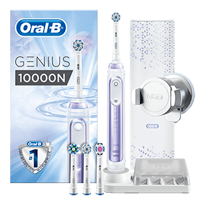 Oral-B Genius 10000 Orchid Purple electric toothbrush