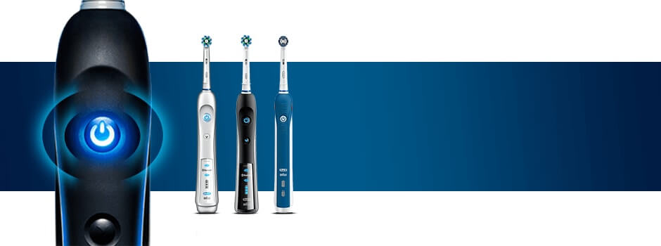 Find your Oral-B Electric Toothbrush