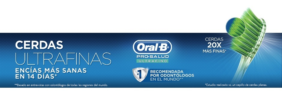 Cepillo Dental Oral-B Pro-Salud Ultrafino