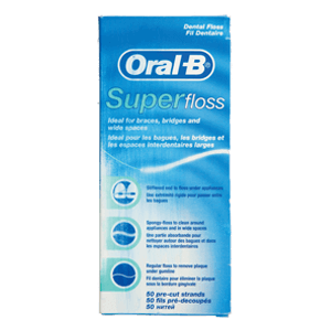 חוט דנטלי Super Floss‏ Oral-B